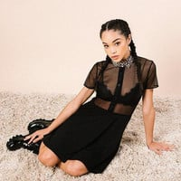 Marlen Mesh Dress