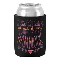 Get Out Of My Hammock (V-Llama) Can Cooler