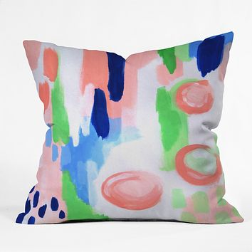 Laura Fedorowicz Refresh Outdoor Throw Pillow