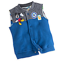 Mickey Mouse Vest for Baby