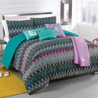Roxy Tribal Dash Complete Comforter set