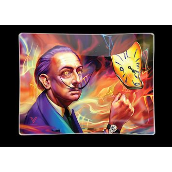 Delirious Salvador Dalí Glass Tray