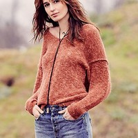 Free People Womens Stella Softly Vee Sweater