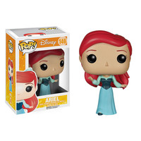 The Little Mermaid Ariel Blue Dress Pop! Vinyl Figure - Funko - Little Mermaid - Pop! Vinyl Figures at Entertainment Earth
