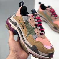 Balenciaga Triple-S Sneaker fashion retro platform daddy shoes