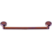 """14 Gauge 1"""" Bronze Anodized Titanium Flat Surface Barbell 2mm Rise 