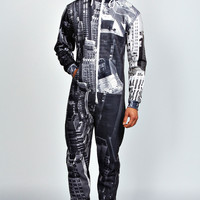NYC Skyline Sublimation Onesuit