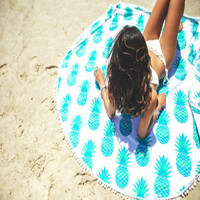 Indian Round Mandala Tapestry Outdoor Picnic Blanket Beach Towel Throw Yoga Mat 2016 New Women Bathing Suit Sexy Lace Crochet
