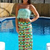 Sweet Country Nights Top - Mint