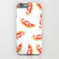 Watermelon iPhone & iPod Case by Rui Faria