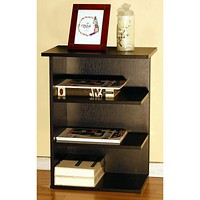 """24""""H Magazine Rack Chairside End Table Red Cocoa"""