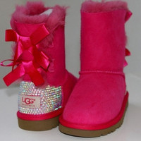 Custom Swarovski Children's/Toddler Ugg by MissMackiesBoutique