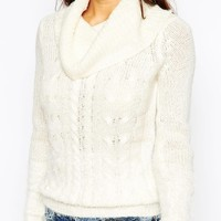 Vero Moda Petite Knitted Sweater With Roll Neck