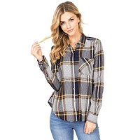 Harmony Plaid Shirt