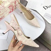 DIOR Trending Women Retro Pointed High Heeled Sandals Shoes