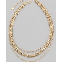 Multi Layer Chain Necklace