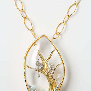 Anthropologie - Cheshire Panther Necklace