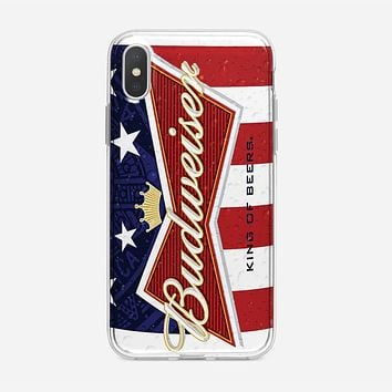 Budweiser 25 Oz Can iPhone XS Max Case