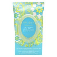 Pacifica Purify Coconut Water Cleansing Wipes - 30 Count