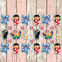 Lilo & Stitch Planner Stickers | Erin Condren | Inkwell | Kikki K | Movie | Disney | Monster | Alien | Ohana | Hawaiian | Hawaii | Cute |