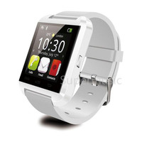 Bluetooth Smartwatch U8 U Smart Watch Wrist Touch Watches Mate for iPhone IOS 7 4S 5S Samsung HTC Android Phone Smartphone