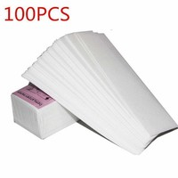 100pcs Non-Woven Body Cloth Hair Removal Wax Paper Rolls