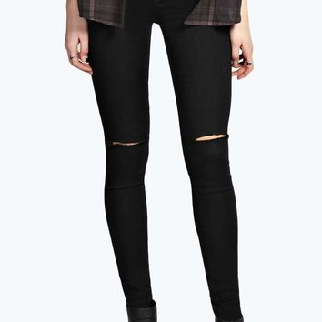 Avah High Rise Ripped Disco Jeans