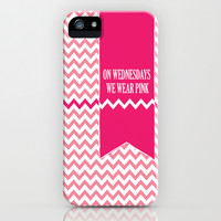 On Wednesday We Wear Pink iPhone & iPod Case by Kate