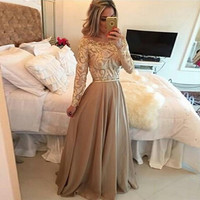 Women Fashion Hollow Out Lace Long Dress = 1838815748