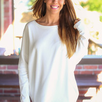 Be Mine Sweatshirt - Ivory