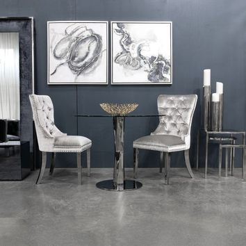 Darian Contemporary Upholstered Dining Chair | Overstock.com Shopping - The Best Deals on Dining Chairs