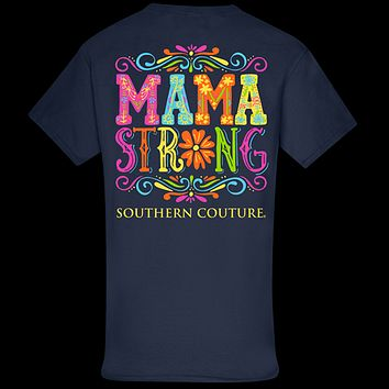 Southern Couture Classic Mama Strong T-Shirt