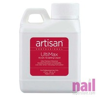 Artisan Ultimax Acrylic Nail Liquid | Low Odor - Easy Workability - 4 oz (118.3 ml)