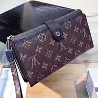 Hipgirls Louis Vuitton LV New fashion monogram leather women wallet purse