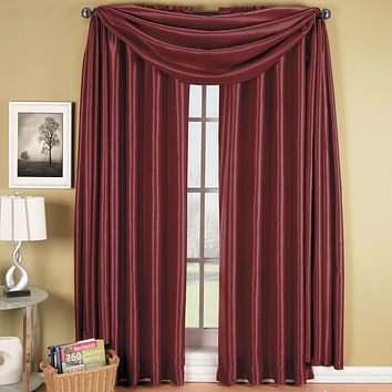 Burgundy 42x96 Soho (Single Panel) Window Treatment