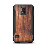 The Bright Stained Wooden Planks Samsung Galaxy S5 Otterbox Commuter Case Skin Set