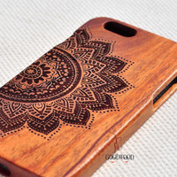 Real wood iPhone Case Wooden iPhone 5/5S/6/6 Plus Case Samsung S5/Note3/Note4 Wood Case