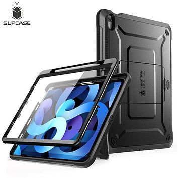 """SUPCASE For iPad Air 4 Case 10.9"""" (2020 Release) UB PRO Full-body Rugged Cover Case WITH Built-in Screen Protector & Kickstand"""