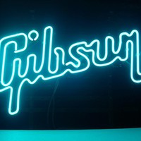 Gibson Guitar Music Neon Sign Real Neon Light