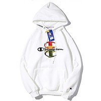 Champion Women or Men Fashion Casual Loose Top Sweater Hoodie