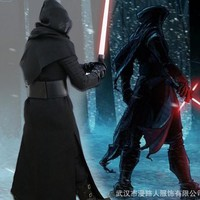 Star Wars 7 The Force Awakens Kylo Ren Mens Cosplay Uniform Outfits Halloween Costumes