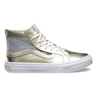Mesh Metallic SK8-Hi Slim Cutout | Shop Womens Shoes at Vans