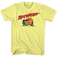 Baywatch Sunset Tee Shirt