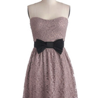 Strapless A-line Admired Aesthetic Dress