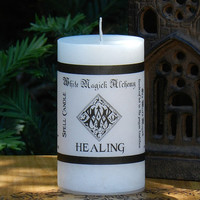 HEALING Spell Candle . Health, Healing, Spiritual Well-Being, Blessings, Bring Healing Energies Forth, Renewal