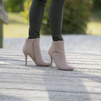 Madison suede bootie