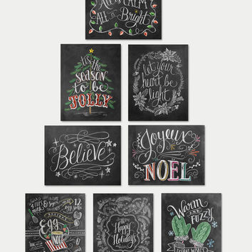 Assorted Boxed A2 Holiday Note Card Set with Color