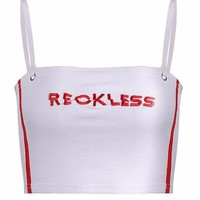 Reckless Cropped Tank Top