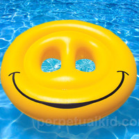 SMILEY FACE POOL ISLAND