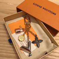 KUYOU Louis Vuitton M67337 key chain can be used to make shoulder strap extension chain for bags